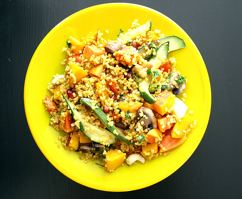 5 Ways to Make Hearty Meatless Salads With Grains