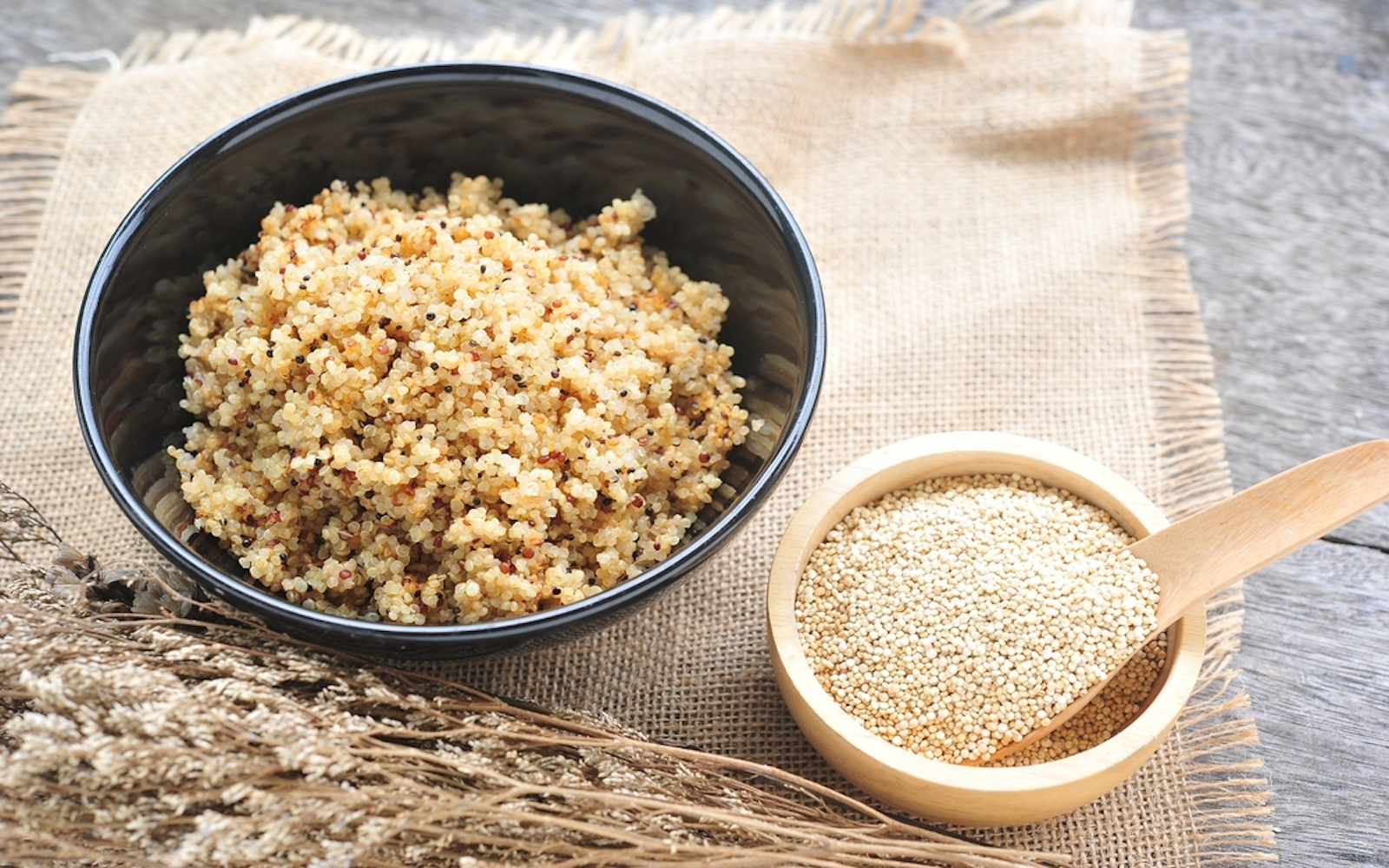 sprout quinoa vegan diet