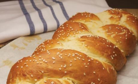 Hot Pretzel Challah Bread
