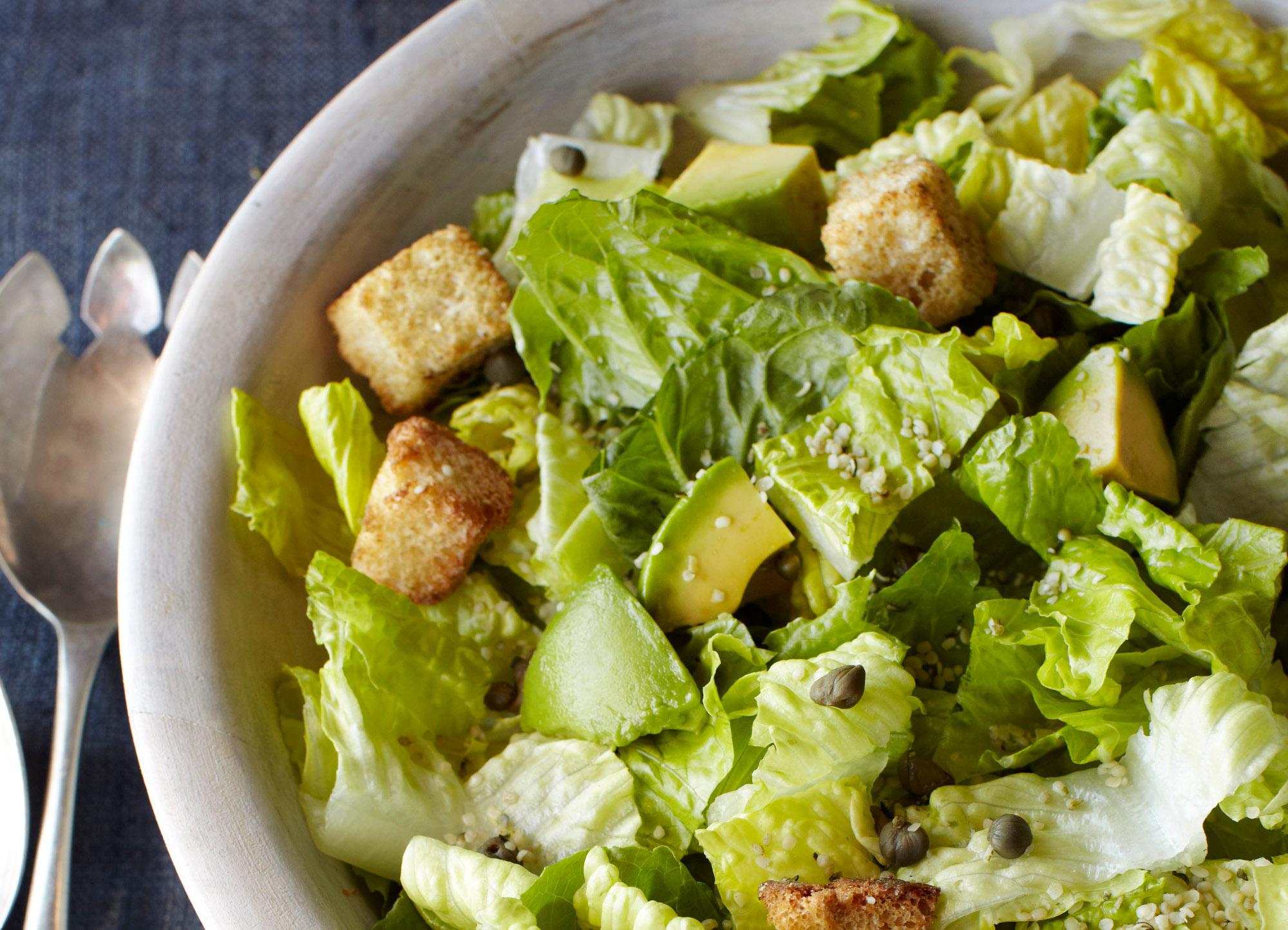 Eccentric Caesar Salad