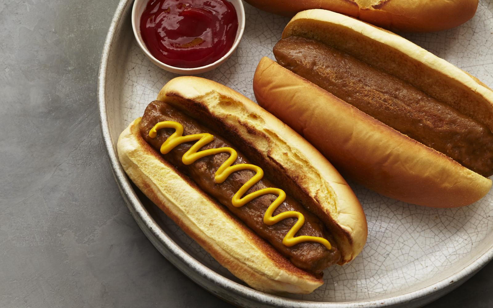 Meat-Free Haute Dogs