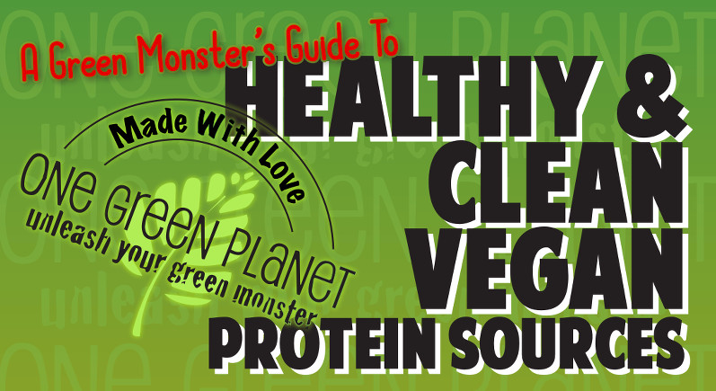 healthy and clean vegan protein sources