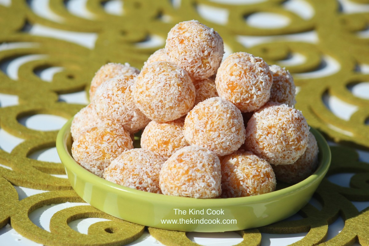Apricot Energy Balls