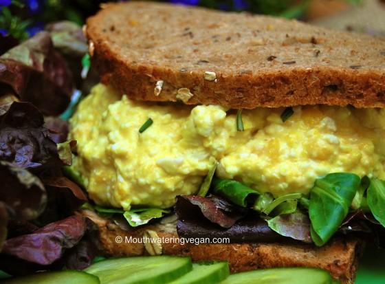 vegan egg sandwich