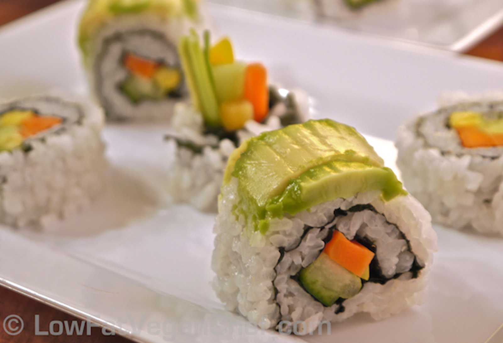 How to Reinvent Your Sushi, Vegan Style