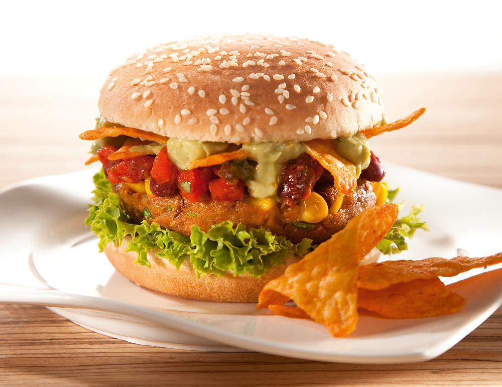 Vegan Tex-Mex Burger