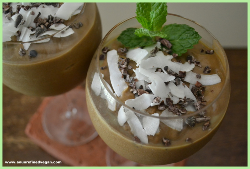 Cocoa-Coconut Mint Smoothie