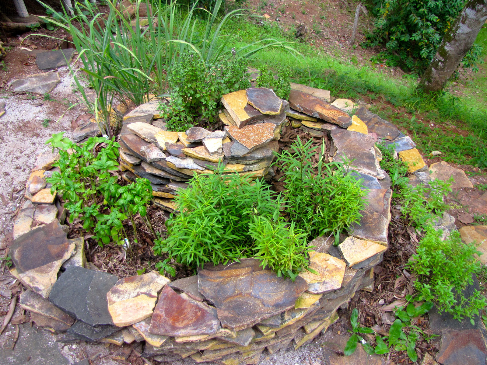 How and Why to Make Your Own Magnificent Herb Spiral