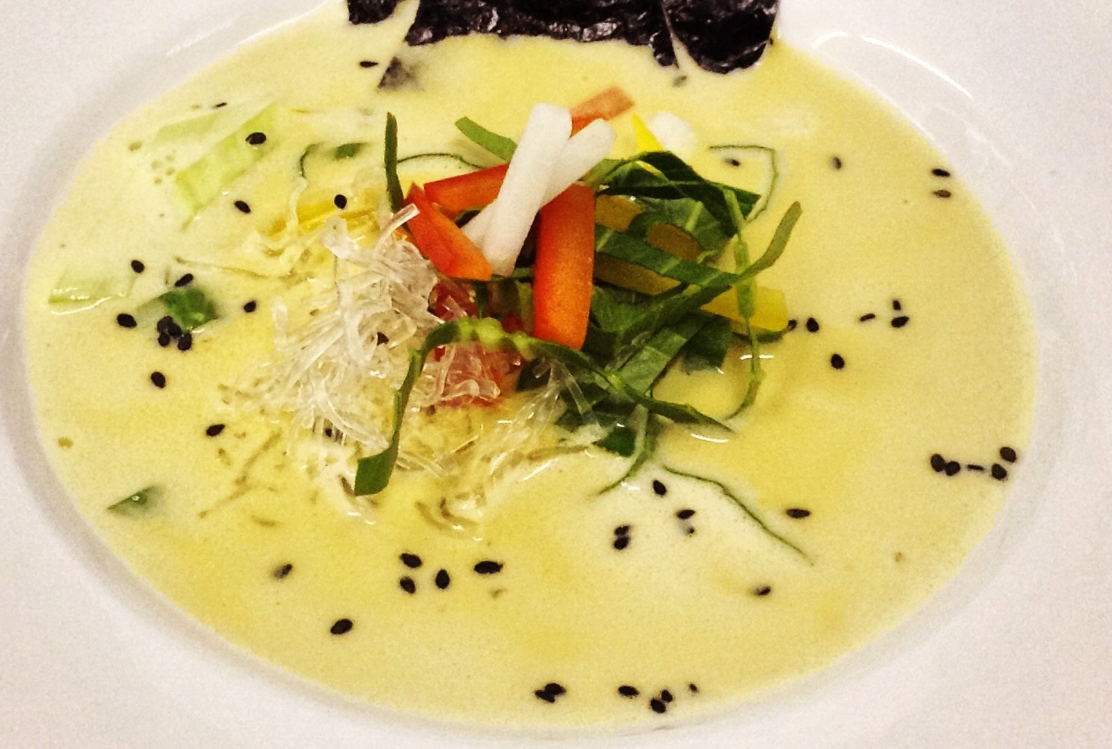 Creamy Raw Thai Coconut Soup