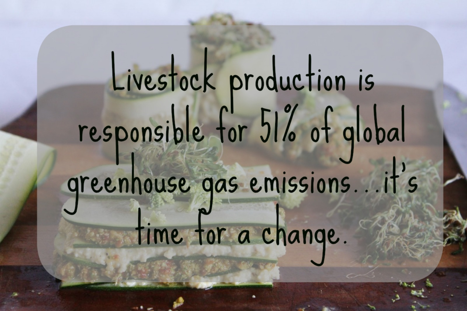 Serious About Addressing Climate Change? It's Time to Get Serious About Changing Your Diet