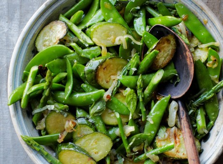 Early Summer Light Veggie Sauté
