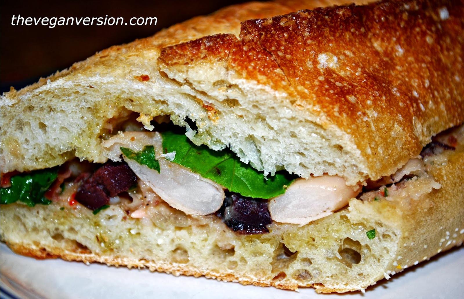 Vegan Chickpea Tuna Melt Sandwich