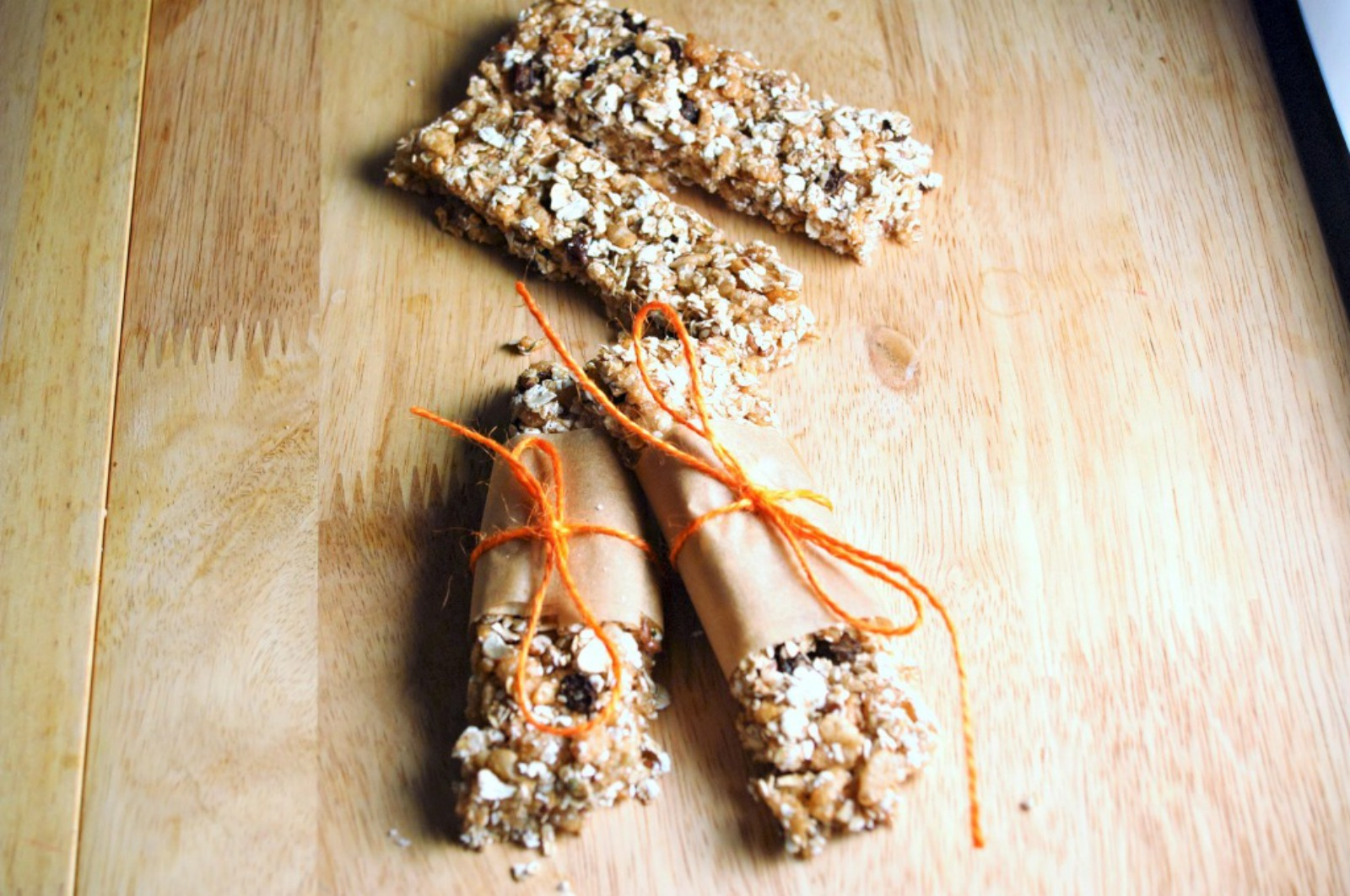 Autumn Spice Granola Bars [Vegan]