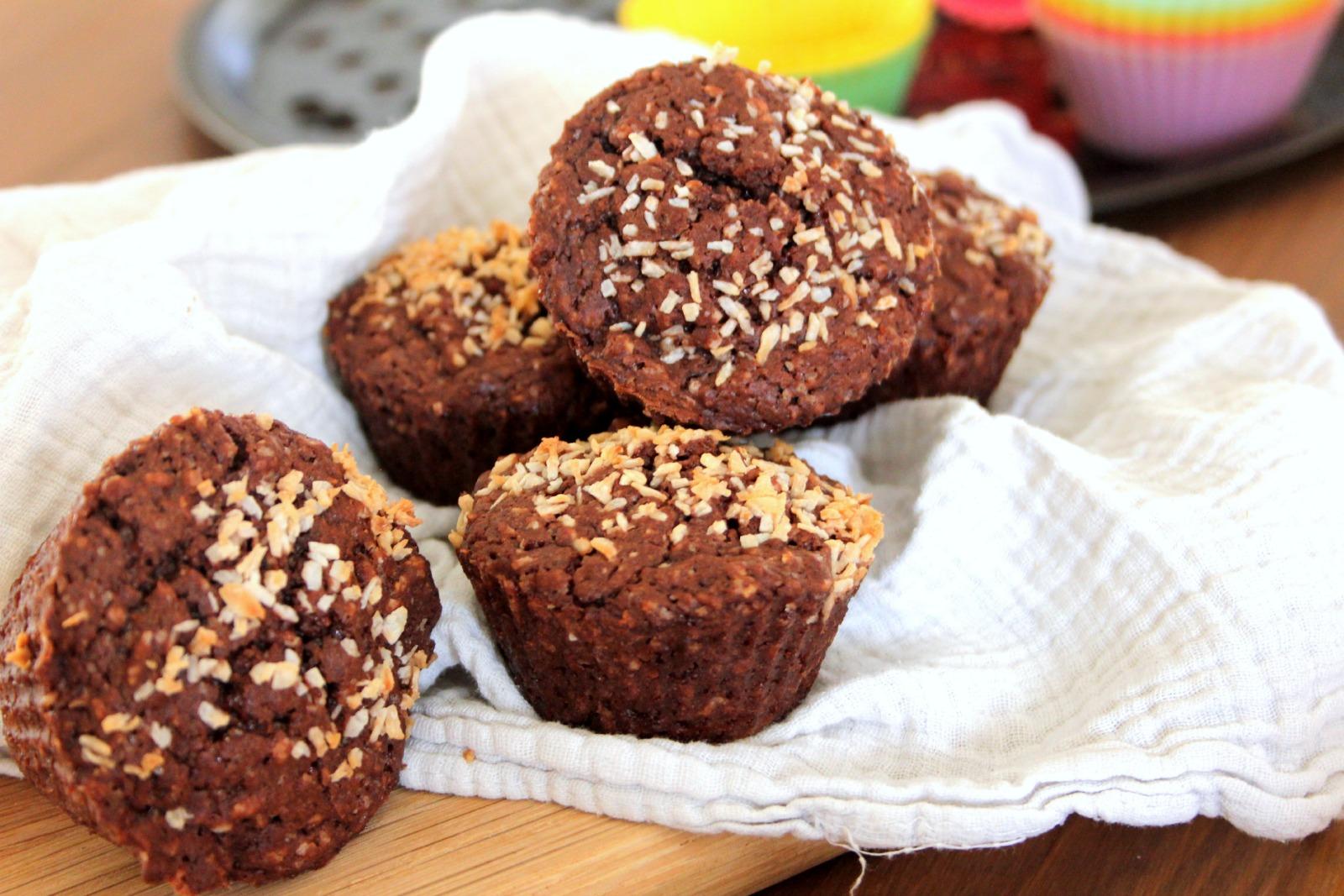Choco-Coco Muffins [Vegan]