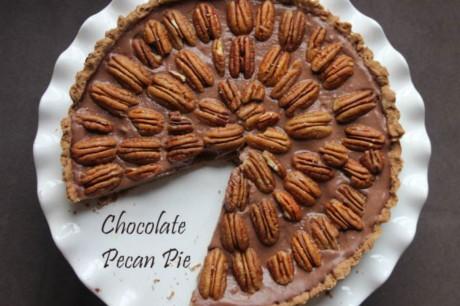 Chocolate Pecan Pie [Vegan]