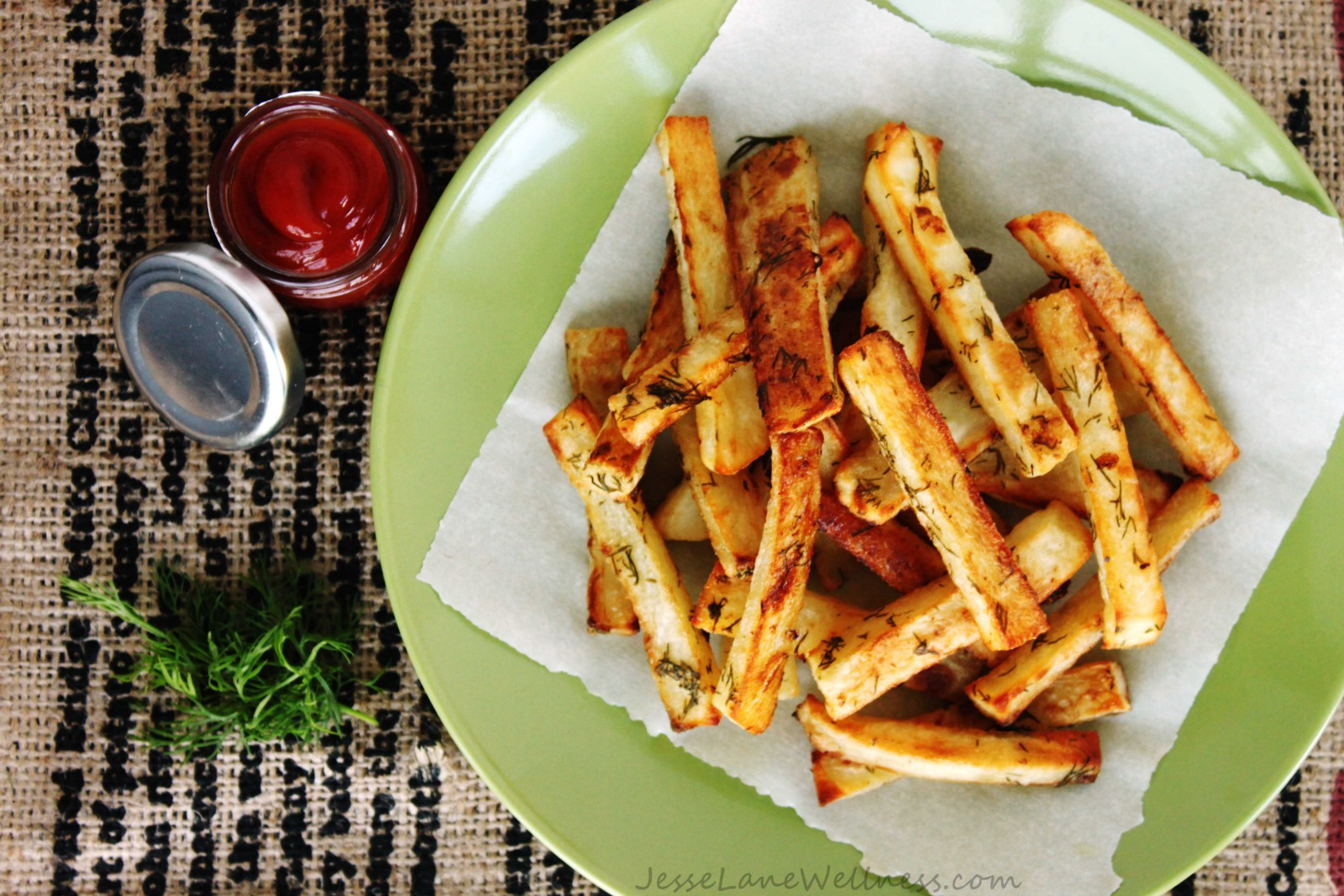 Vegan Dill Pickle French Fries