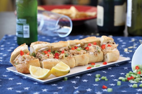 Hearts of Palm Lobster Rolls