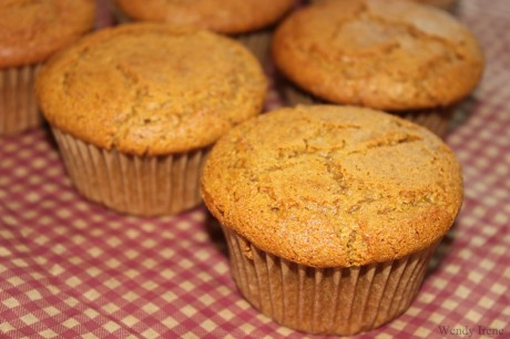 Pumpkin Muffins [Vegan, Gluten-Free]
