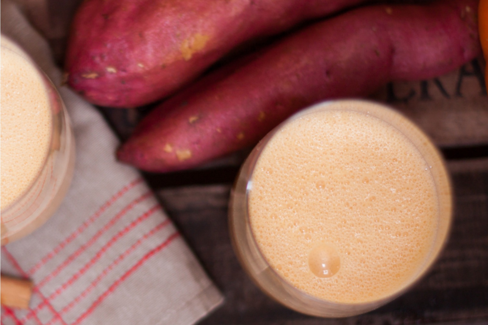 Sweet Potato Pie Smoothie [Vegan]
