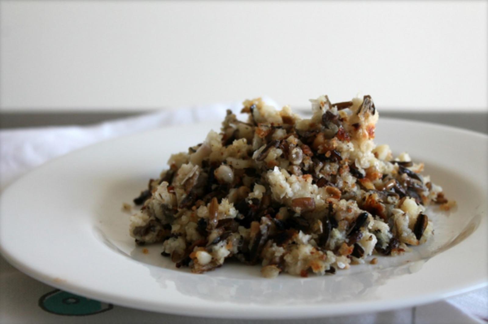 White Bean Wild Rice Hash [Vegan]