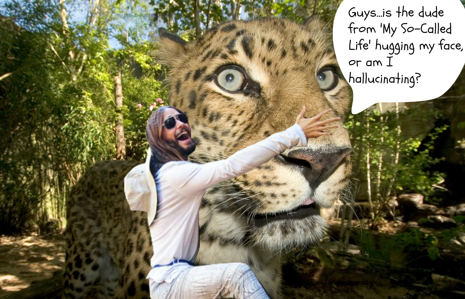 Jared Huggin' Leto Is At It Again! This Time, He's Racing Extinction and Saving Species on the Brink