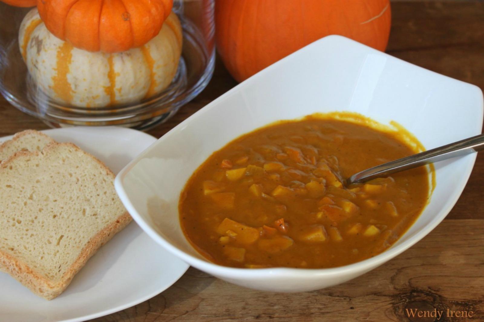 Sweet Potato Pumpkin Soup