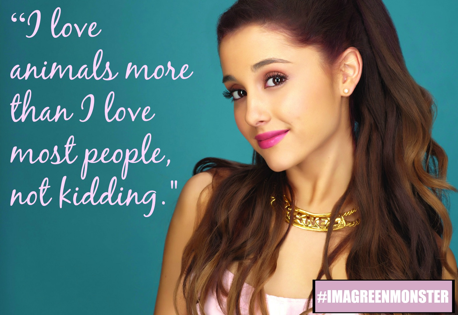 8 Times Vegan Powerhouse Ariana Grande Said Something ...