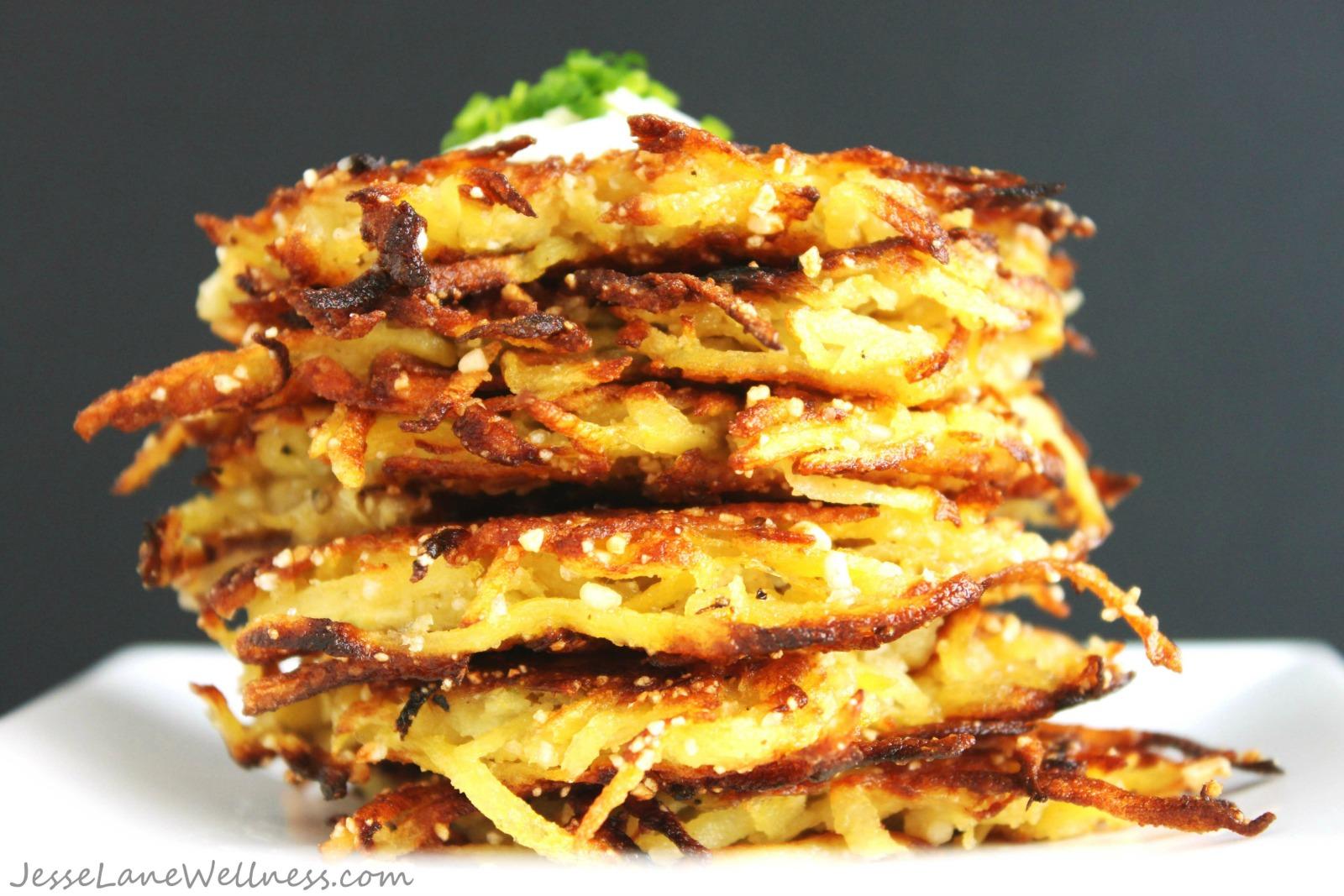 Gluten Free Latkes Recipe [Vegan]