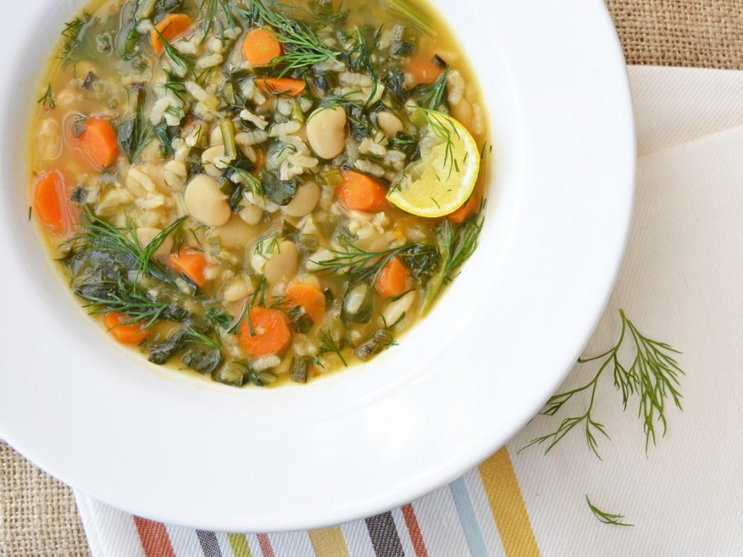Spring Kale Soup