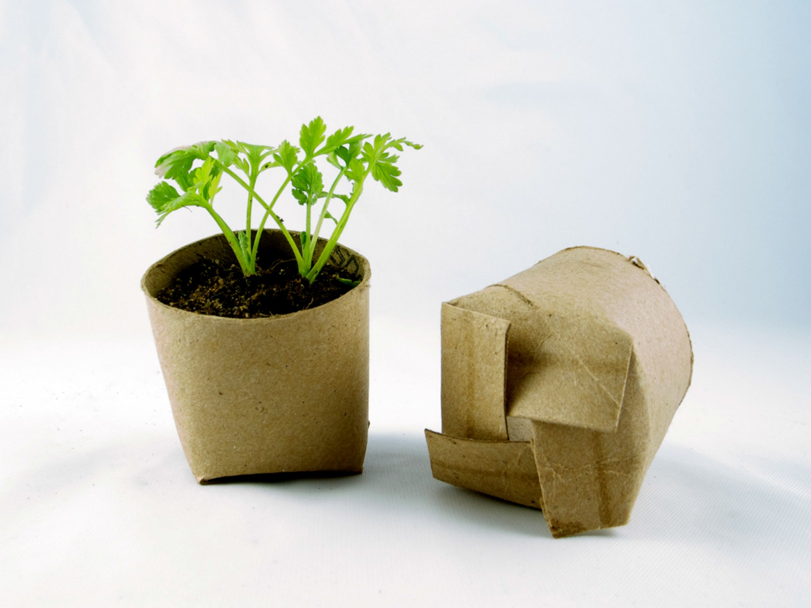 Cool Planters from Recycled Materials-