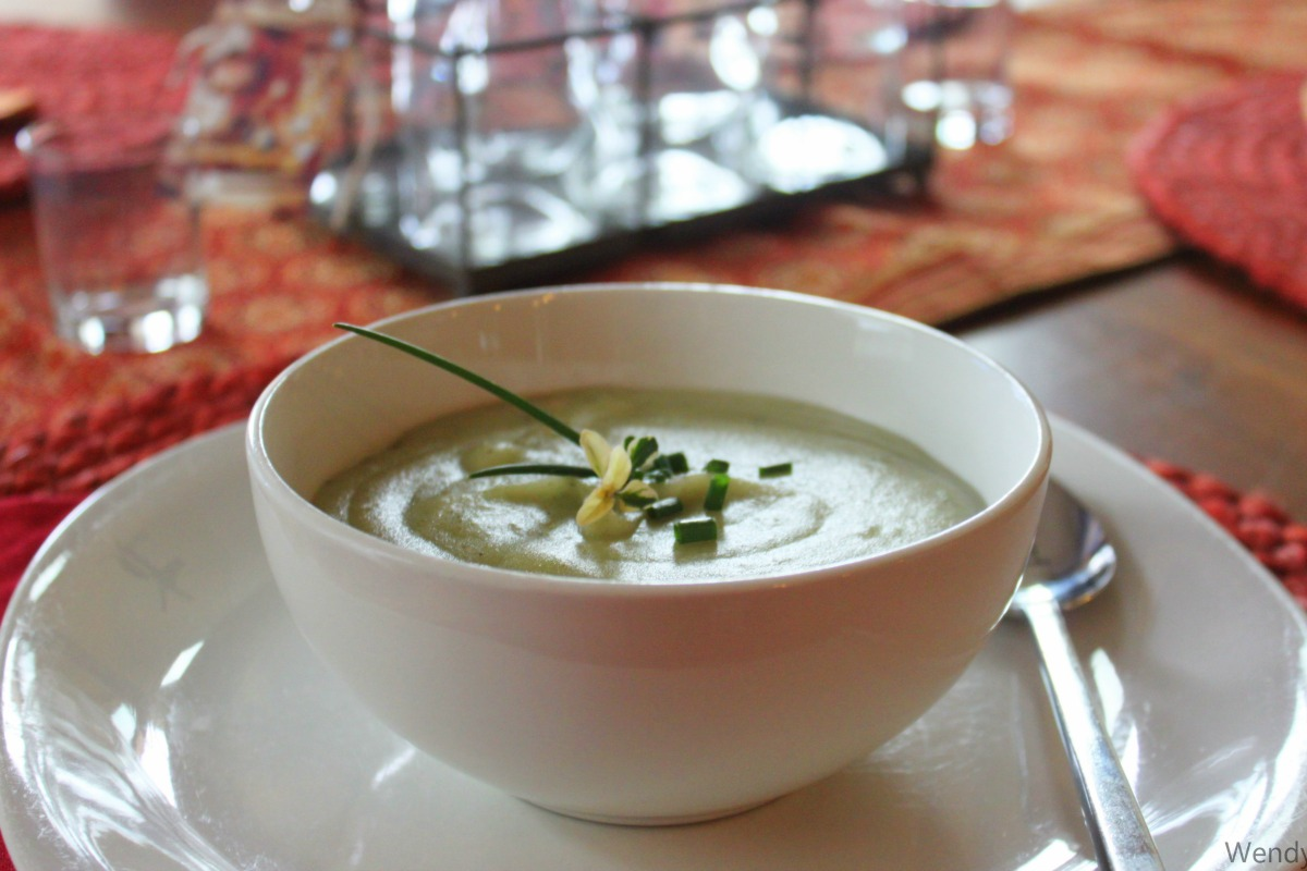 Potato Chive Soup [Vegan, Gluten-Free]