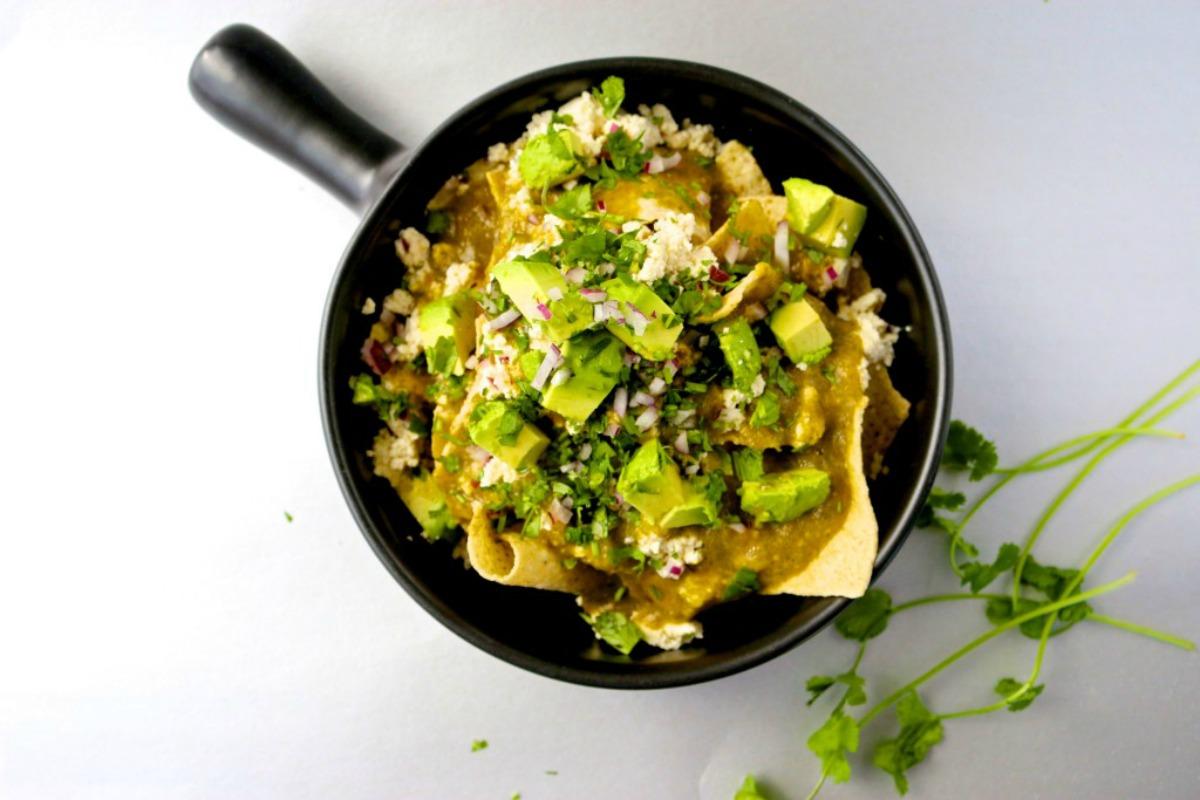 Chilaquiles [Vegan, Gluten-Free]
