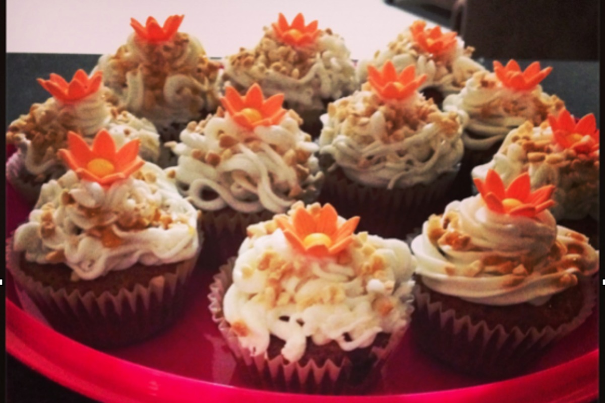 The Carrot Cupcake Concoction [Vegan]