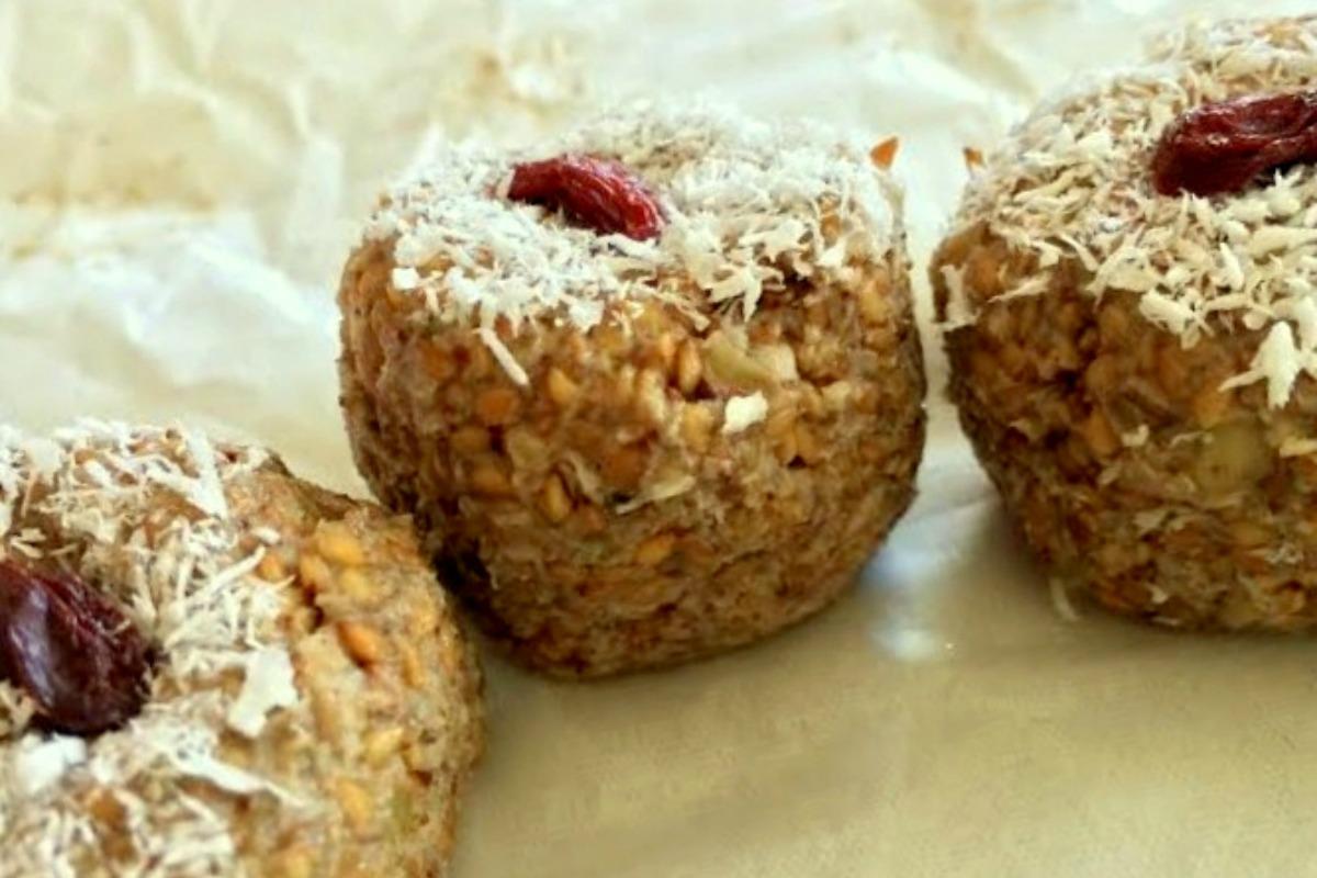 Vedic Sesame Ladoos [Vegan, Gluten-Free]
