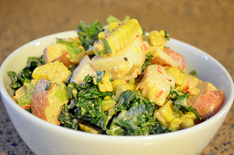 potato corn salad