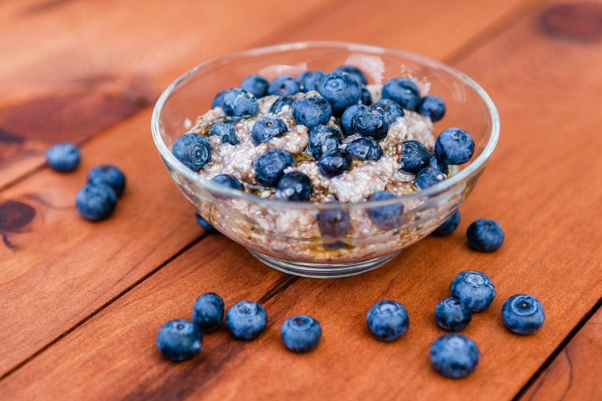 Hemp and Chia with blueberries