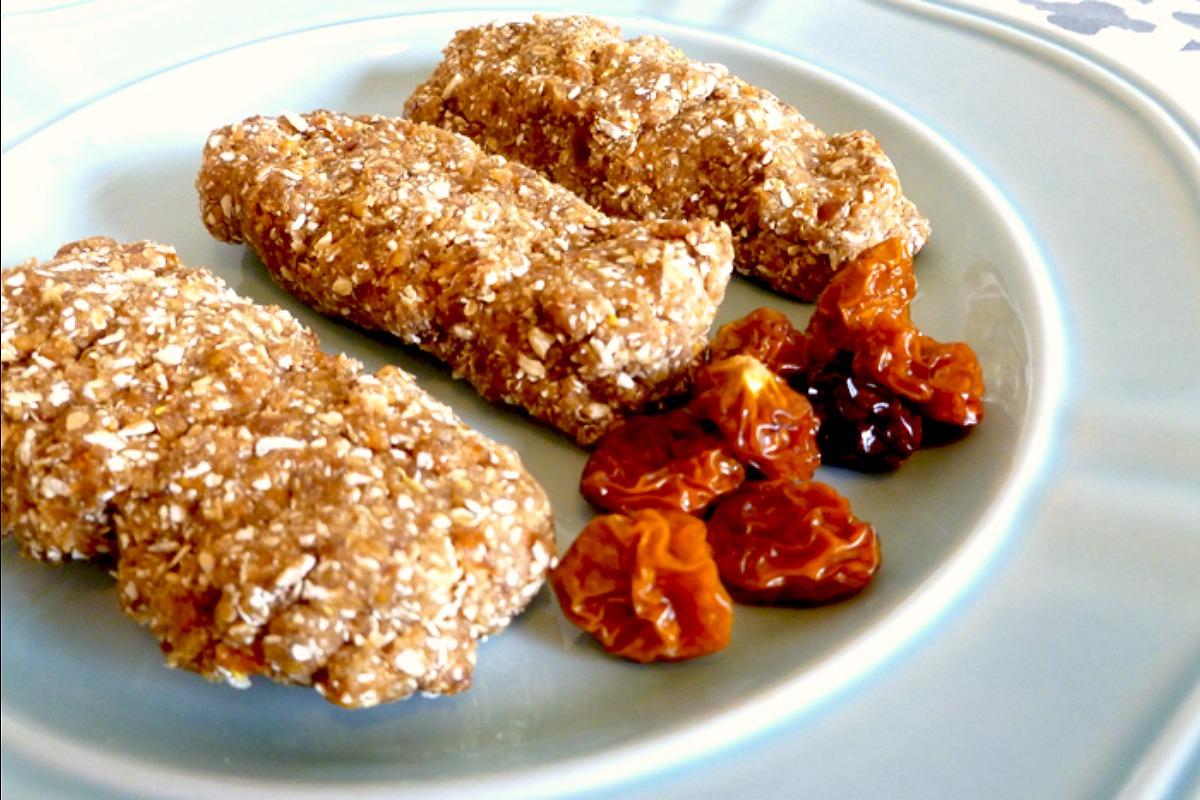 Breakfast Zinger Bars [Vegan, Gluten-Free]