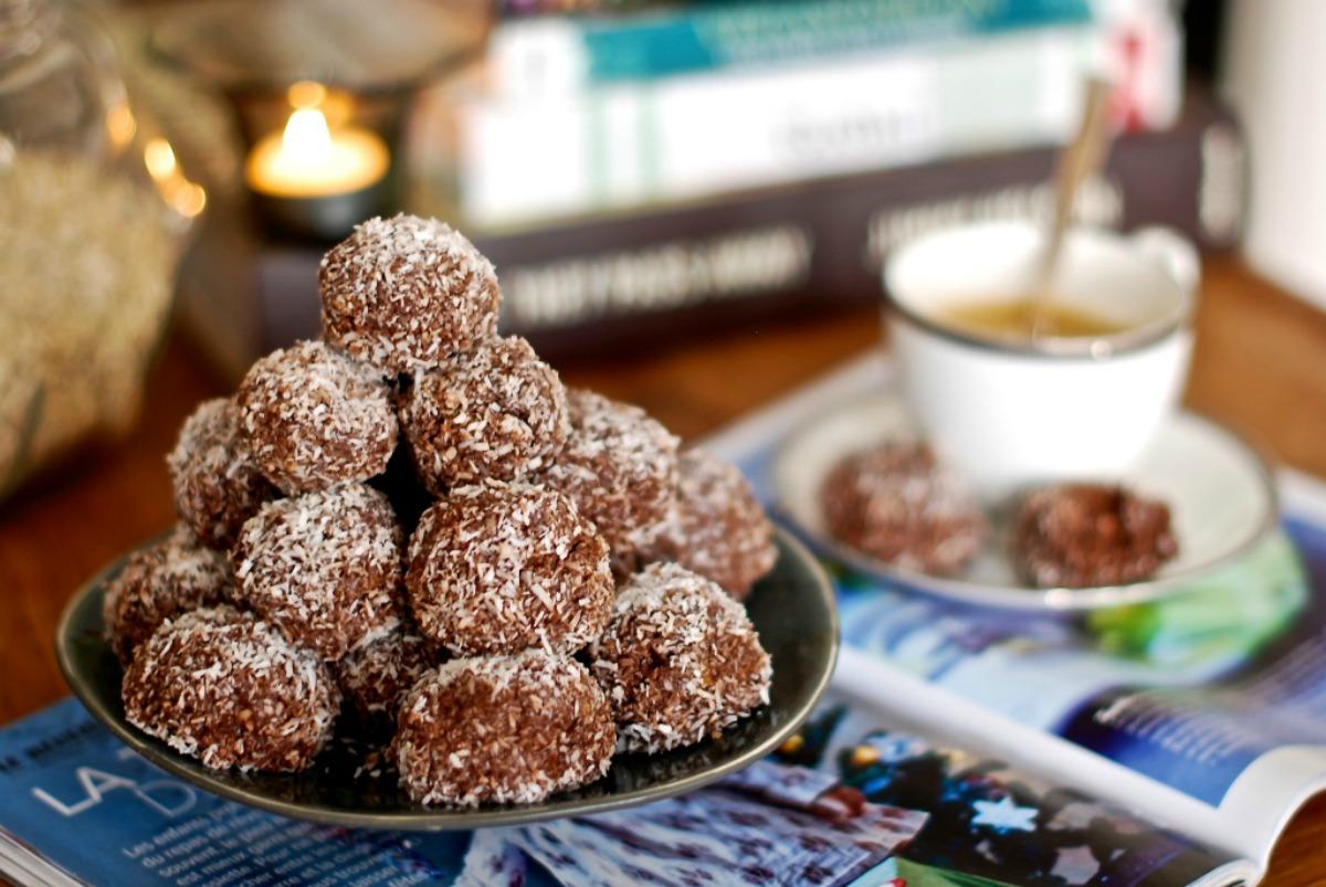 Coconut Brownie Bites [Vegan, Gluten-Free]