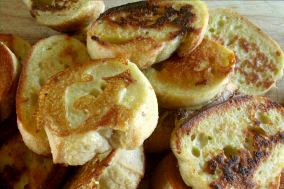 Vegan Eggy Bread With Kala Namak