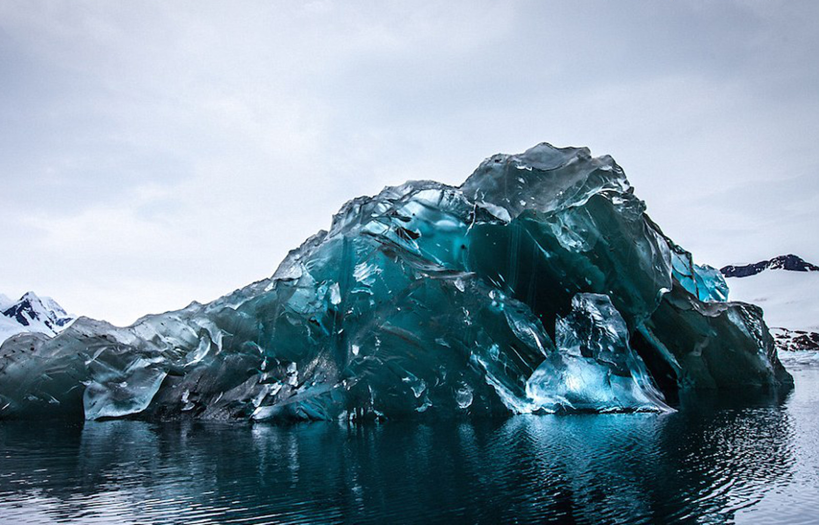 The Rather Shocking Message Behind Stunning Photos of Flipped Icebergs