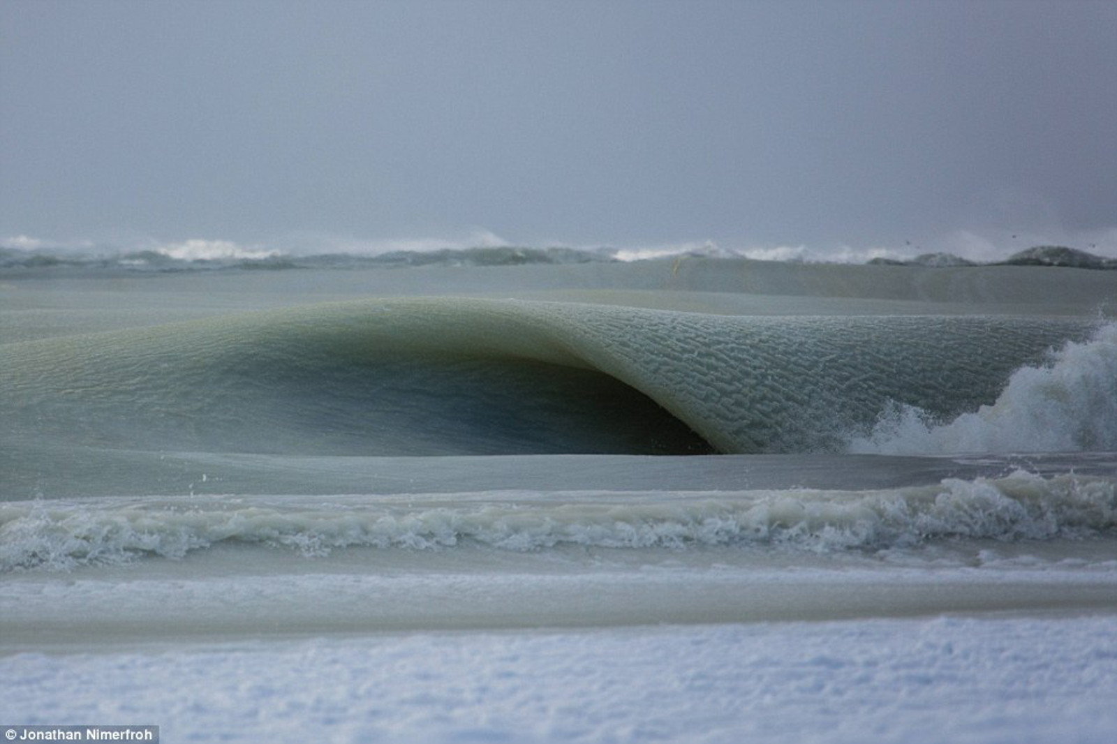 Some Frozen Waves and Snow Ball Walk Into a Bar ... And Taught Us All a Lesson About the State of the Planet