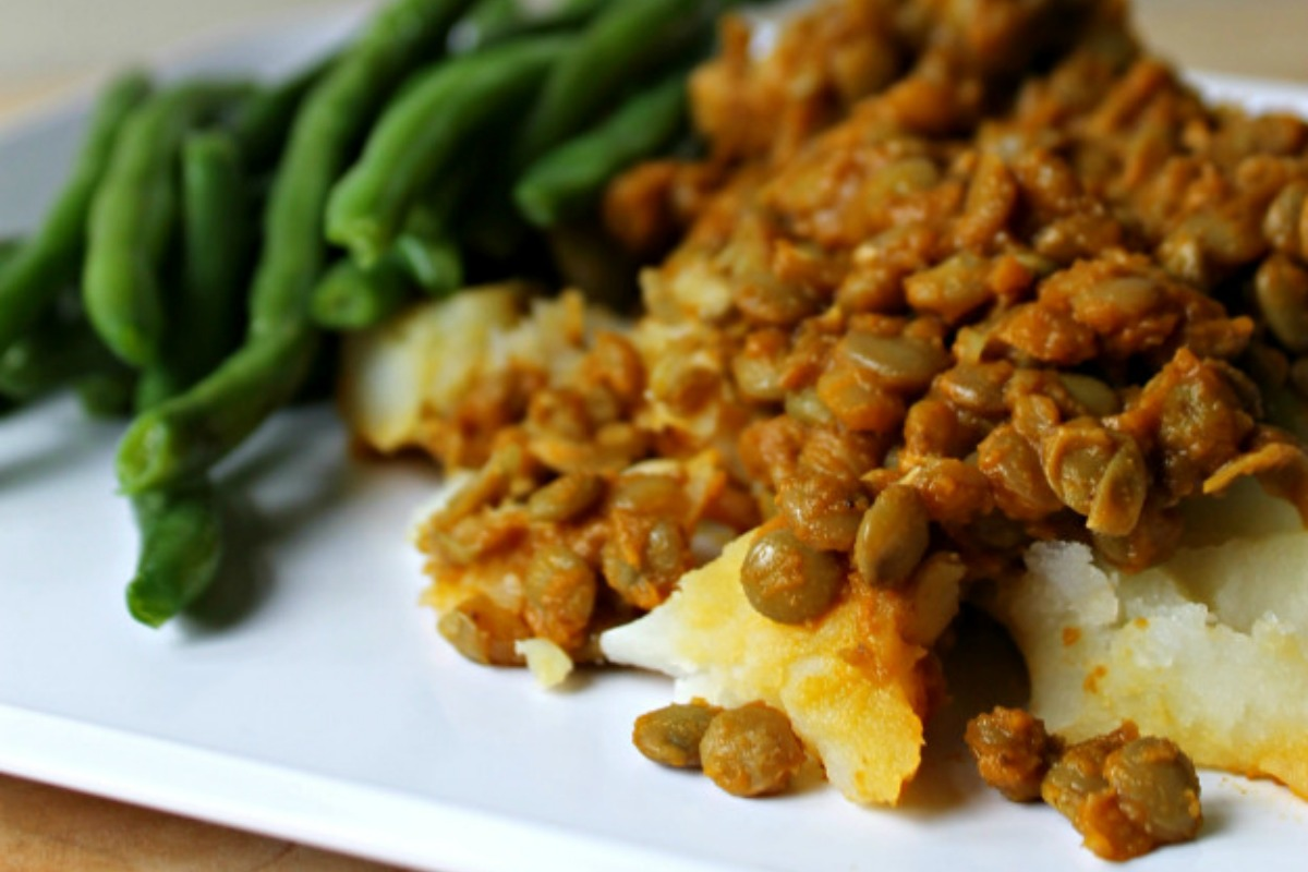 Sweet and Smokey BBQ Lentils [Vegan, Gluten-Free]