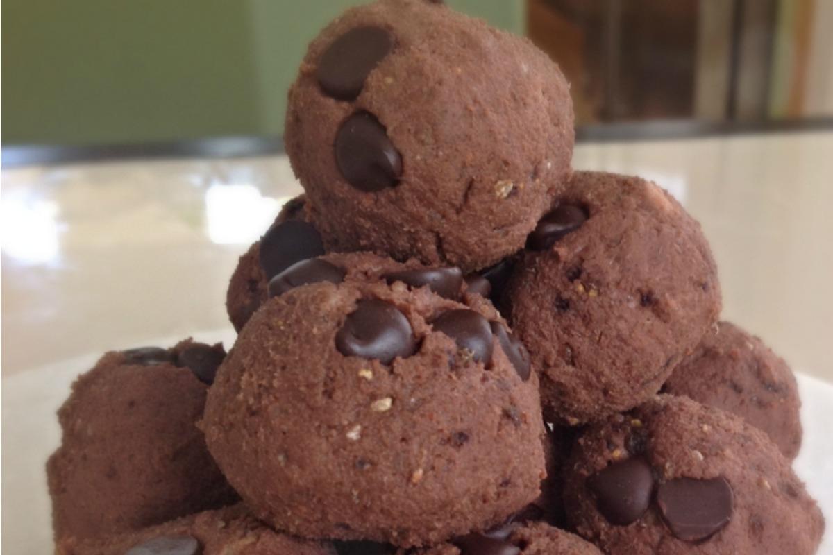 Choco Black Eyed Bean Bites [Vegan, Gluten-Free]