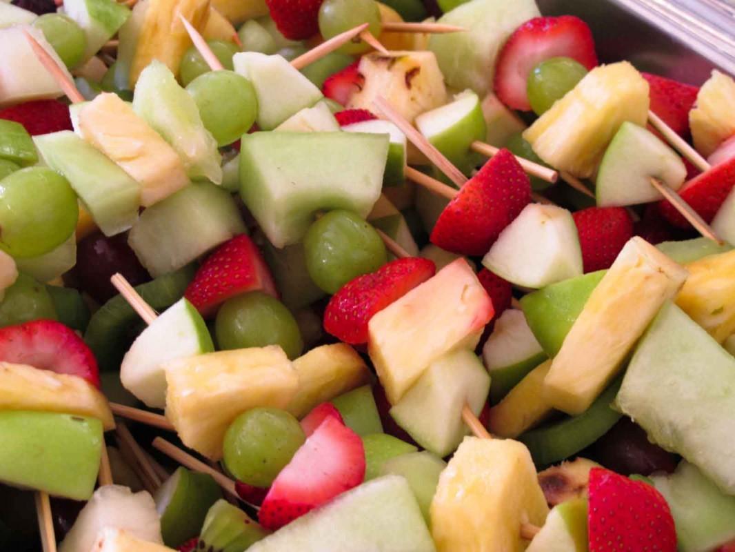fruit skewers