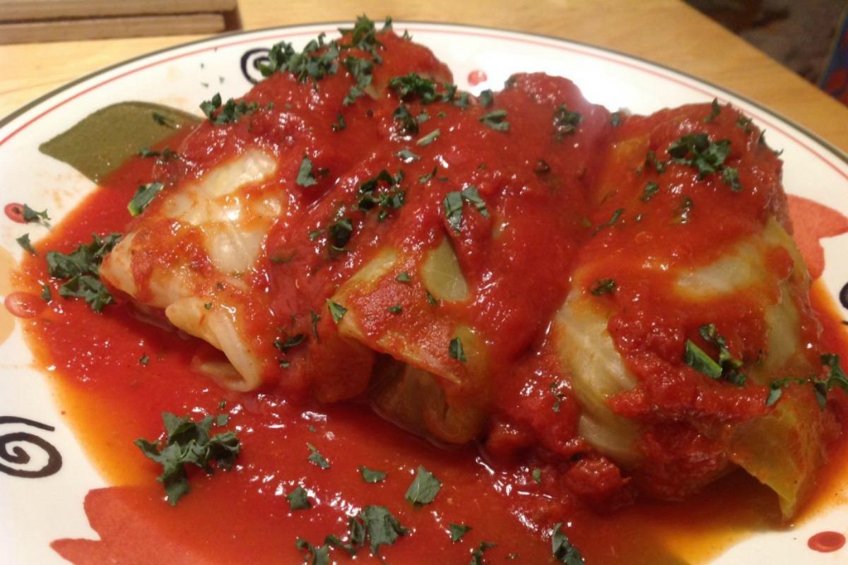 Vegan Holishkes (Stuffed Cabbage) [Vegan]