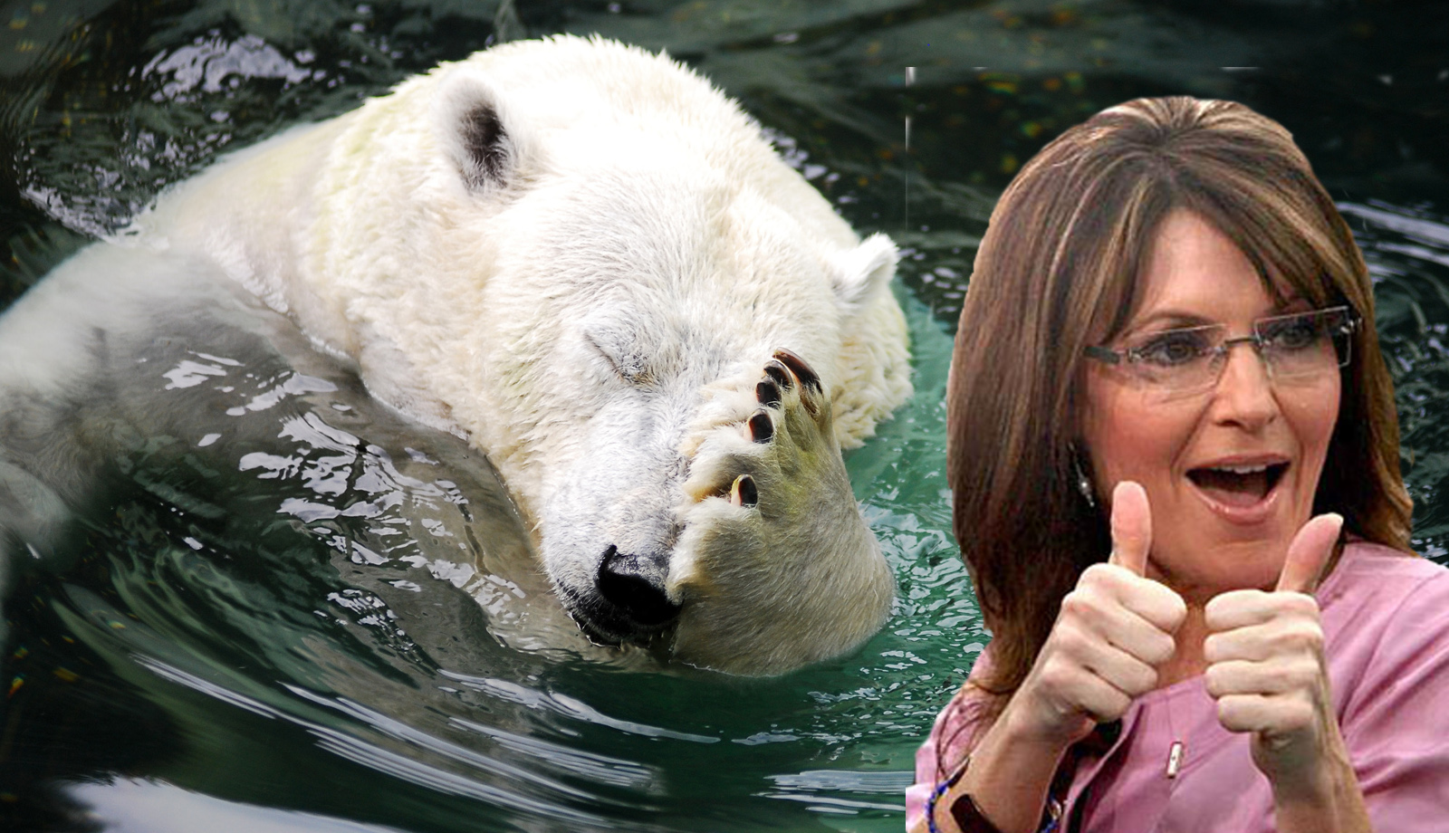 According to Sarah Palin's Logic, These Animals Need to 'Take One for the Team' and Die Already