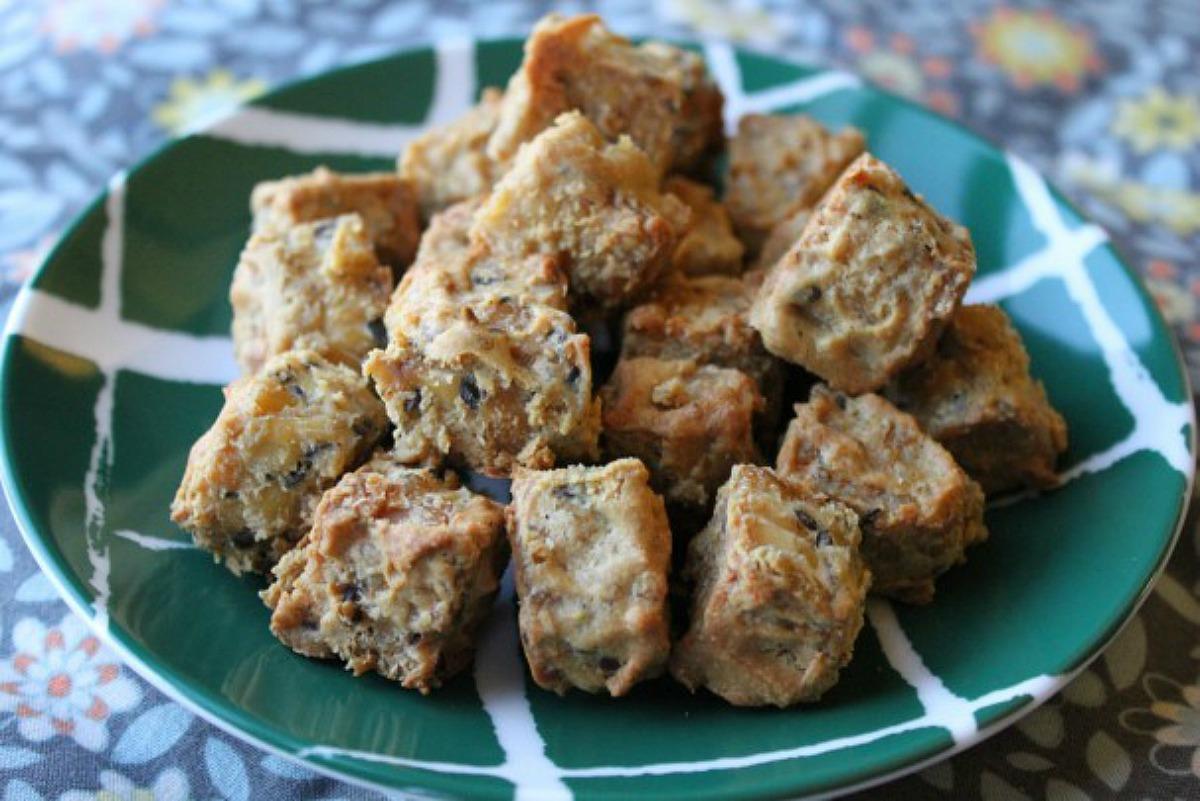Tahini Glazed Tempeh [Vegan, Gluten-Free]