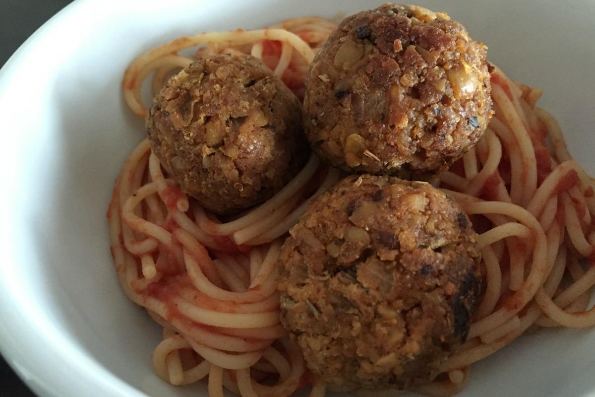 tempeh meatballs vegan