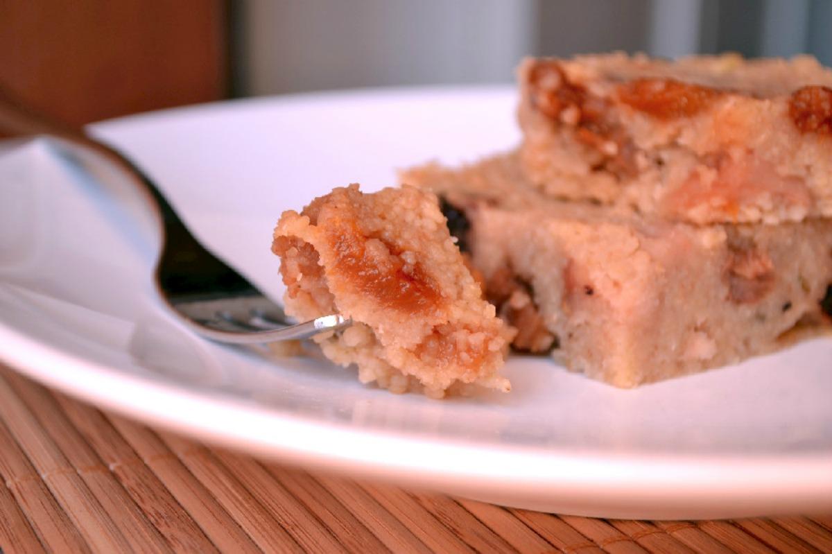 No-Bake Flourless Couscous Squares [Vegan, Gluten-Free]