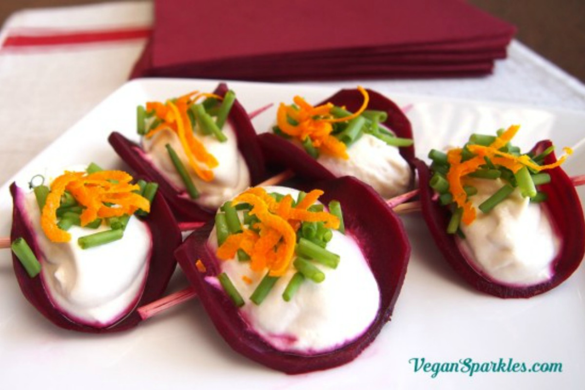 Pickled Beet Mini Tacos [Vegan, Raw, Gluten-Free]